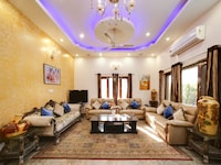 Belvilla 2BHK Modern Farm Stay with Swimming Pool and lush green garden
