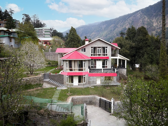 Belvilla 2BHK Forestbound Cottage with Mountain View and sitout area