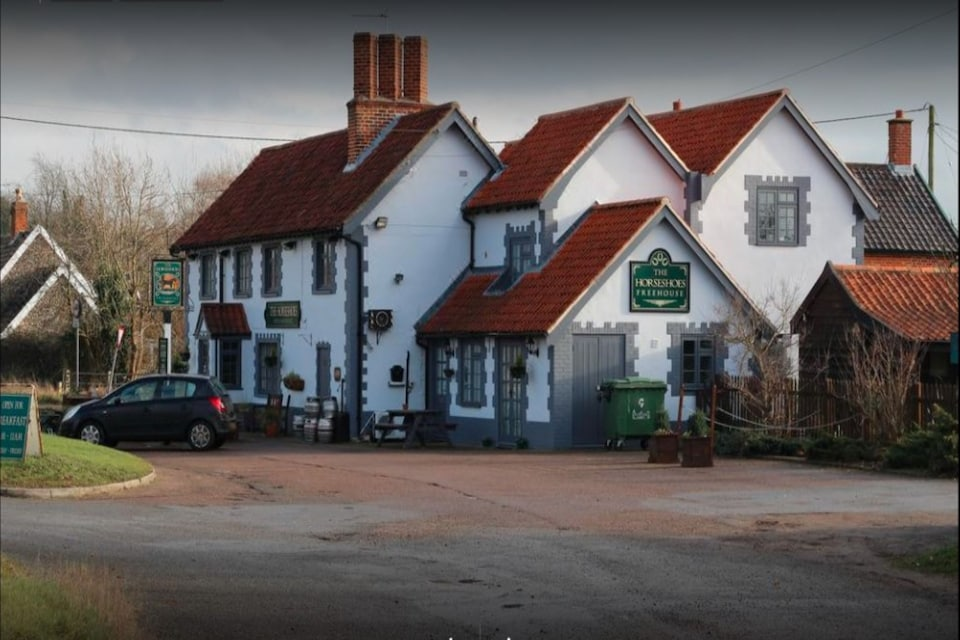 OYO The Billingford Horseshoes, Diss (North England), Diss