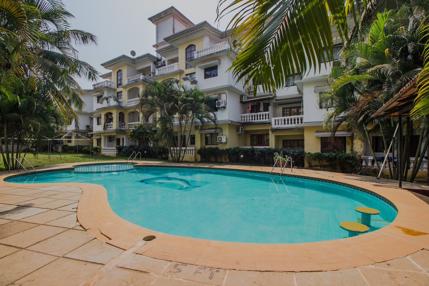 OYO 12036 Home with Pool 1BHK Varca -1