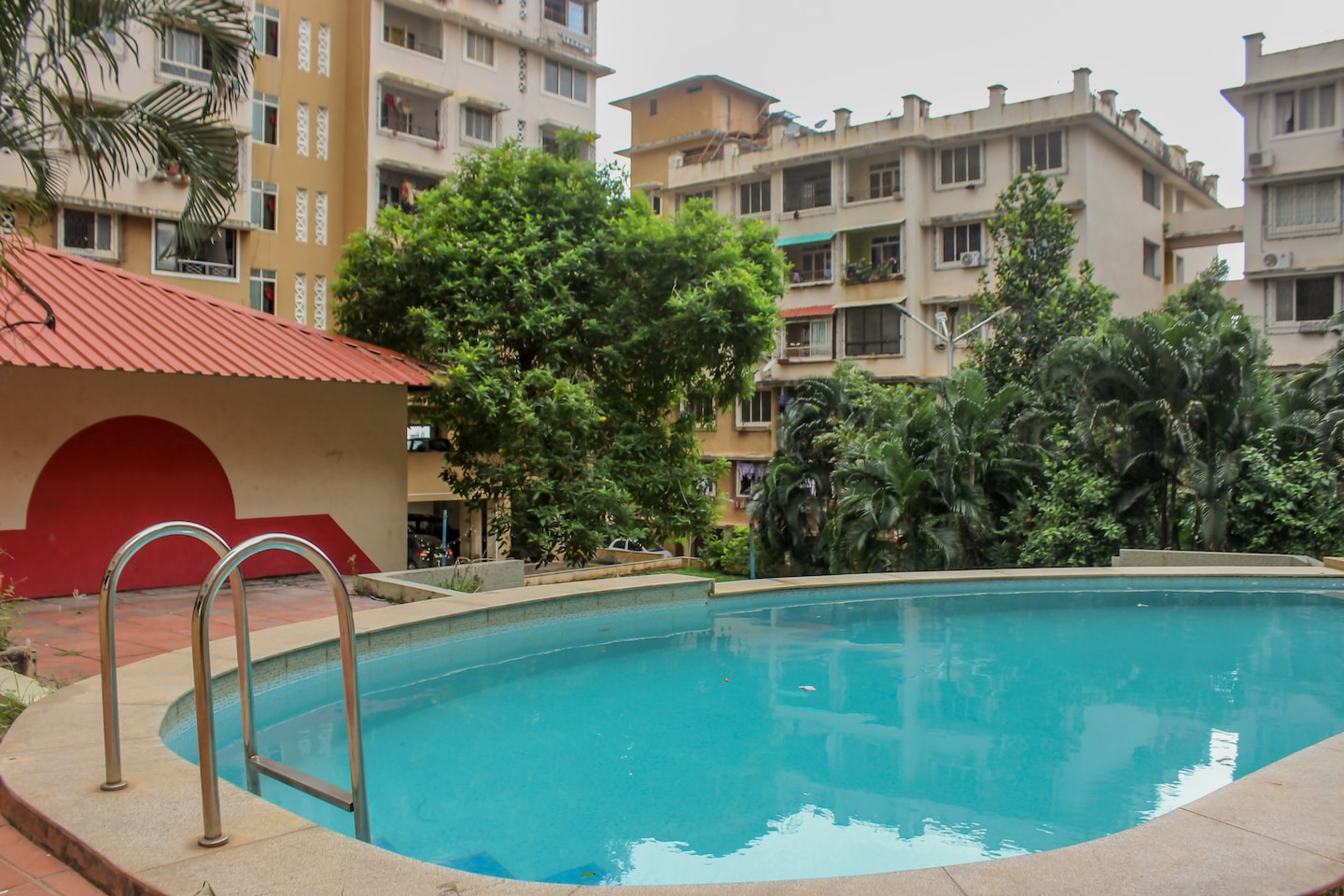 OYO 12390 Home Peaceful 2BHK Near Airport -1