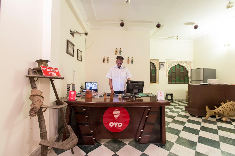 OYO Rooms 094 Heritage Vaishali Chitrakoot Reception-1