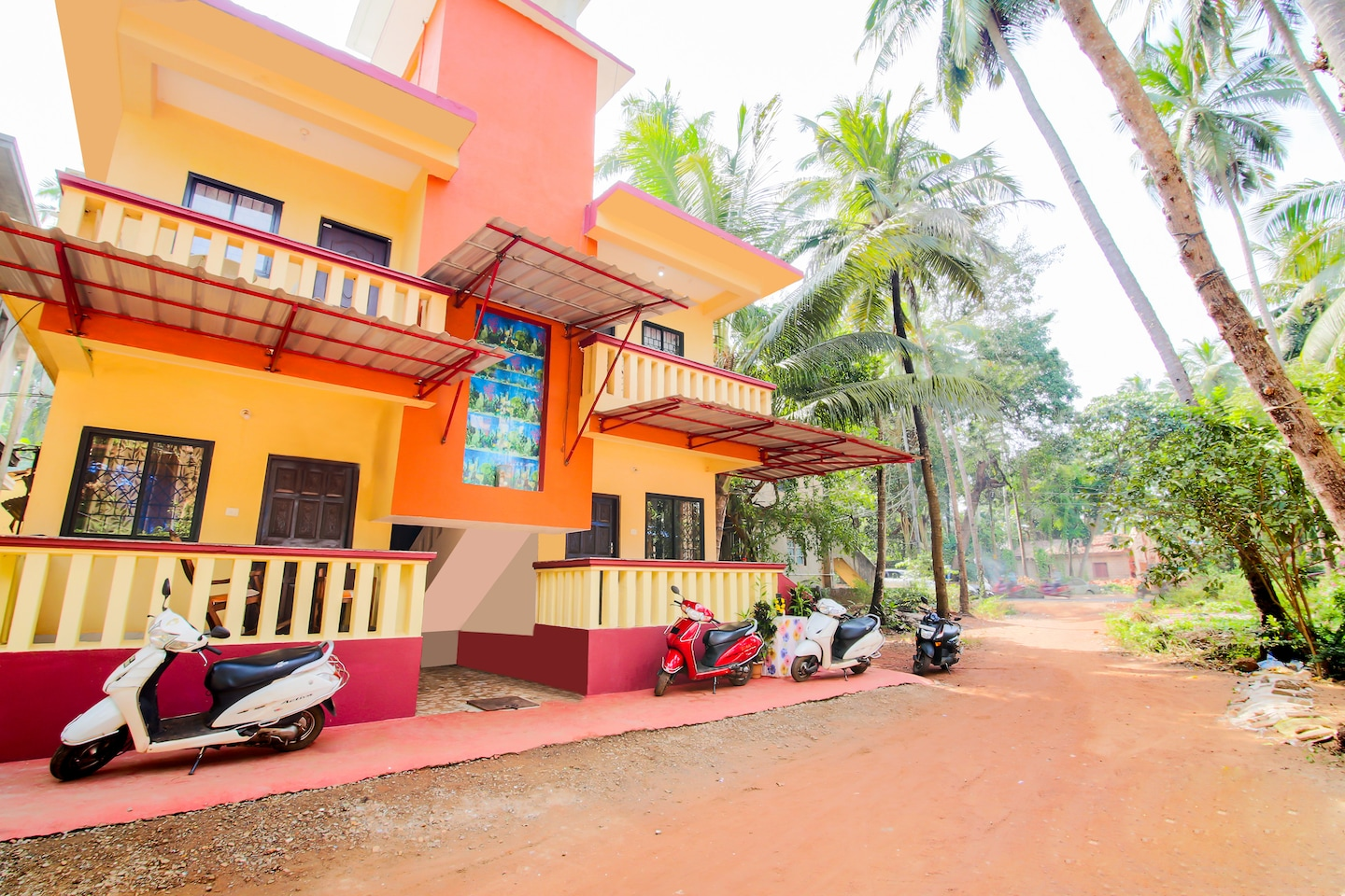 OYO 15489 Home Field View 1BHK Calangute -1