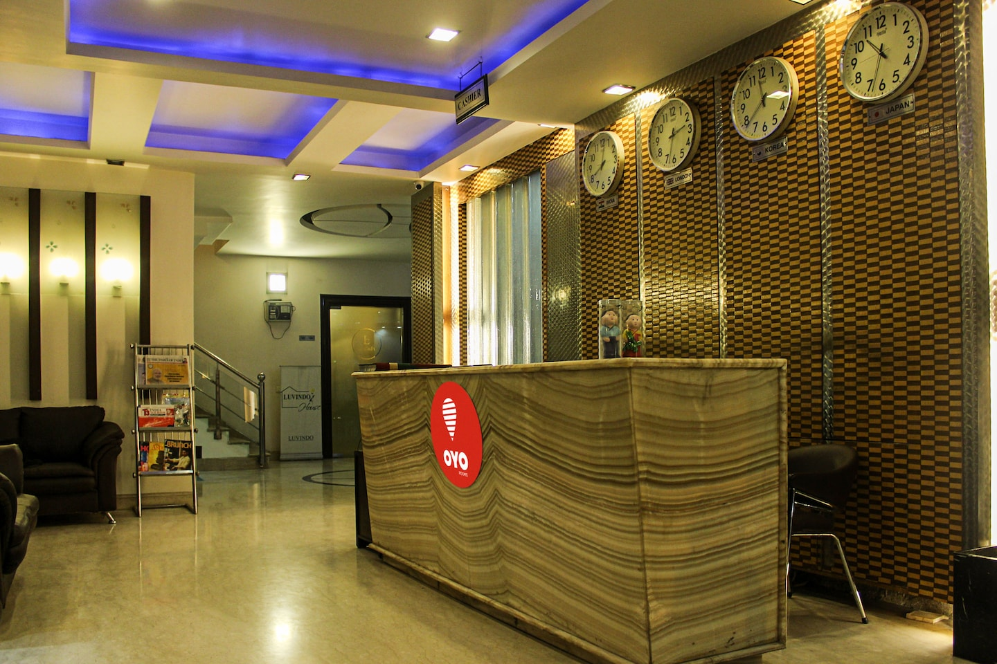 OYO Rooms 126 East of Kailash Reception-1