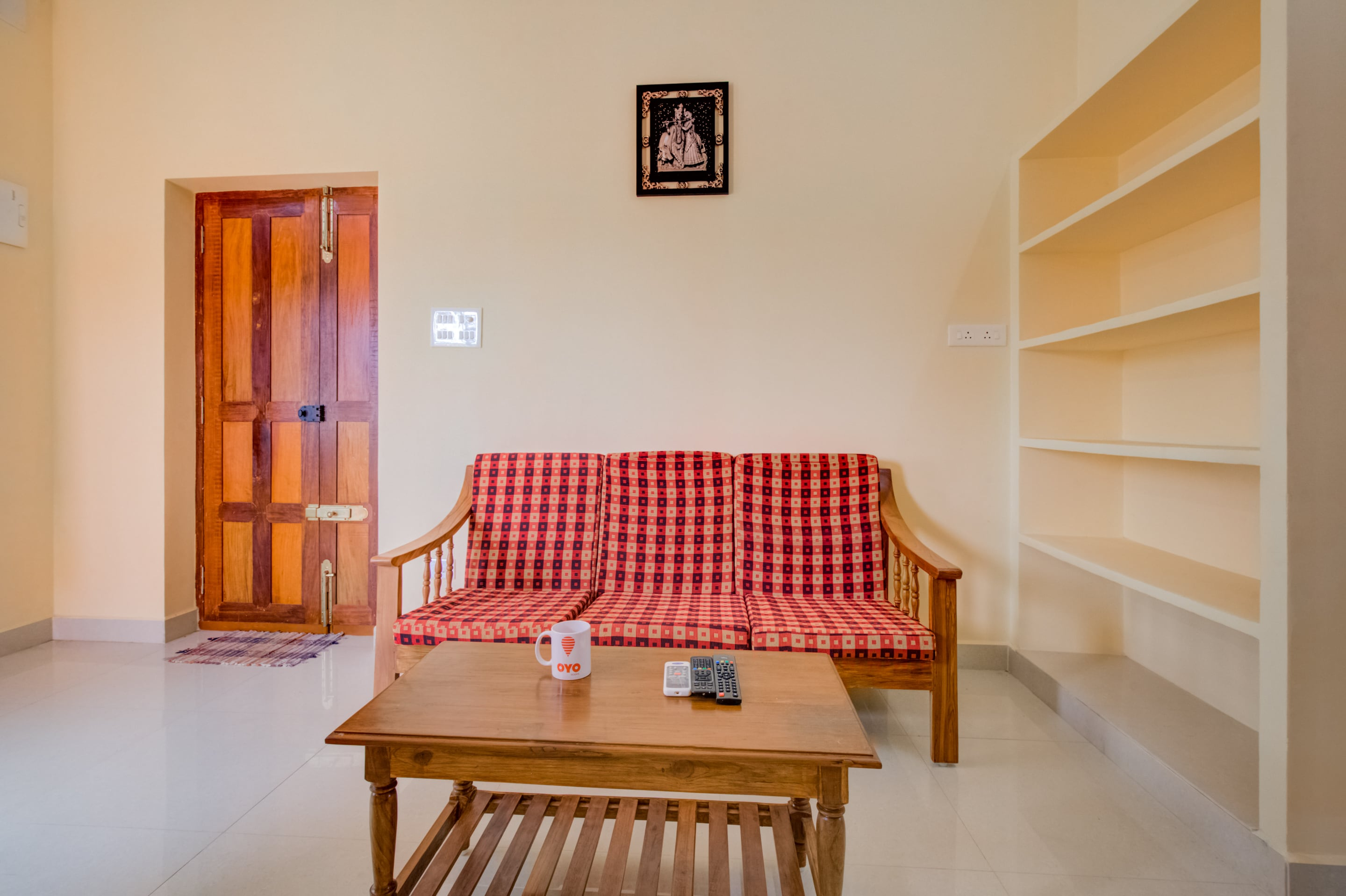??Well-furnished 1BHK| 6m-Airport ??18715