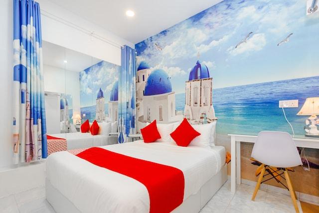 OYO 848 Santorini Hotel Melaka Deluxe