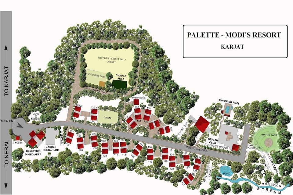Palette - Modi's Resort