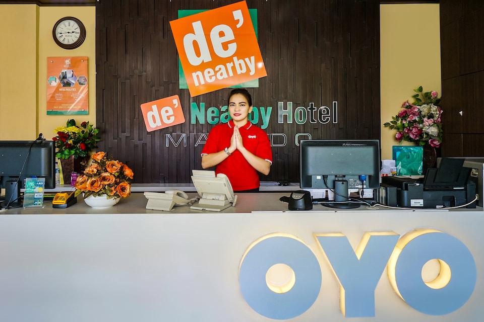 OYO 770 De Nearby Hotel, Manado, Manado