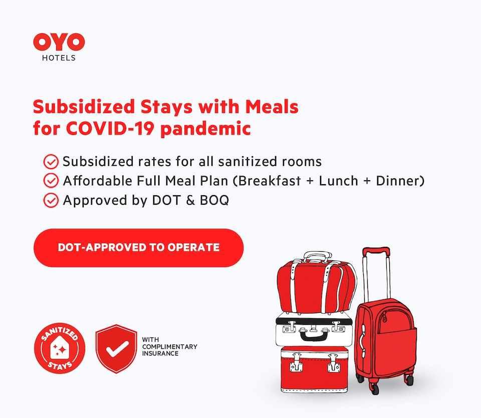 Vaccinated Staff - OYO 495 The Pocket Hotel, Cebu City, Cebu