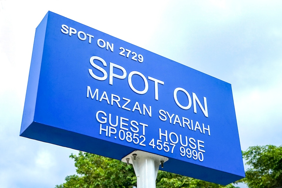 SPOT ON 2729 Marzan Syariah Guest House